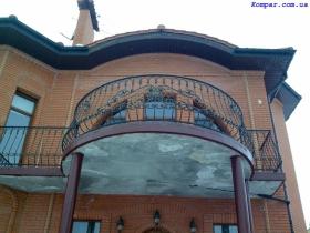 Кованые балконы в Киеве фото картинки рисунки Заказать изготовление