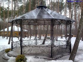 Кованые беседки на заказ в Киеве фото картинки рисунки | Монтаж и доставка беседок