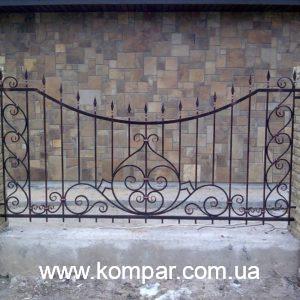 Купить кованый забор