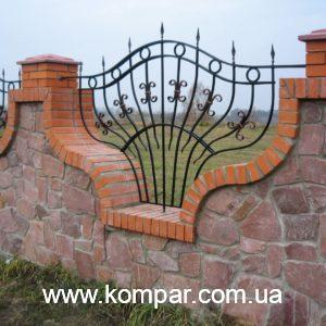 Забор кованый цена
