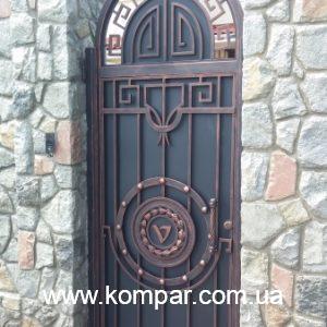 Кованая калитка ковка Кузни Компар - (модель 117)