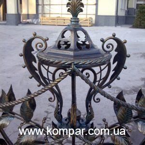 Забор кованый киев