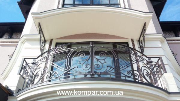 Балкон кованый фото