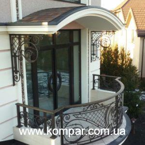 Цена кованый балкон