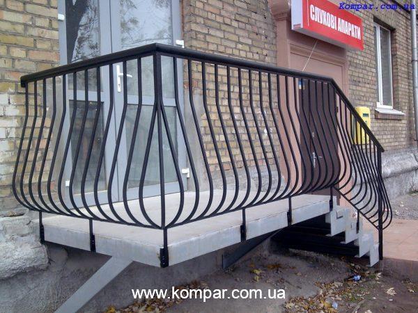 Кованый балкон цена