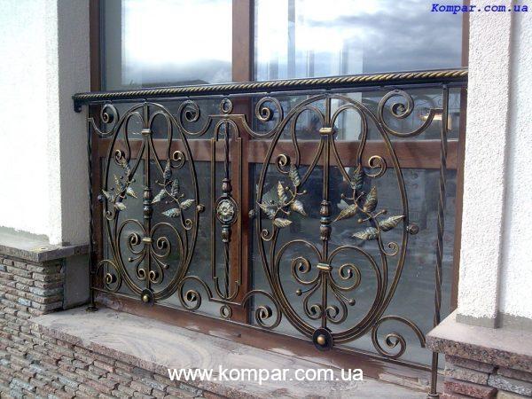 Кованые балконы эскизы