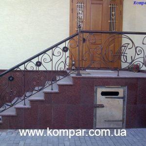 кованые ограждения балконов и террас фото