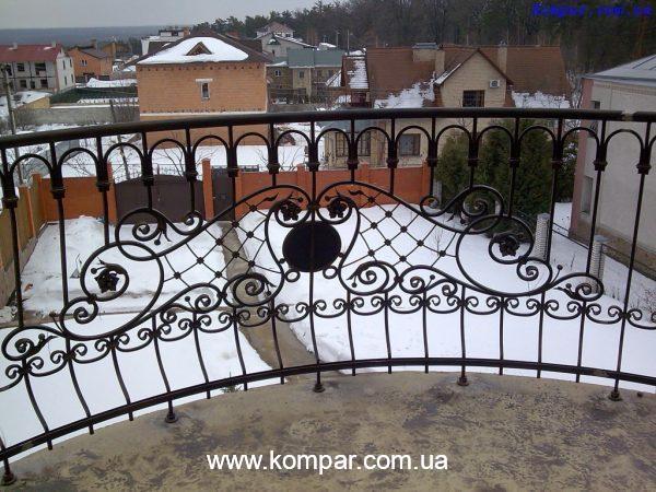 Балконы кованые эскизы