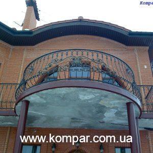 Кованые балконы купить