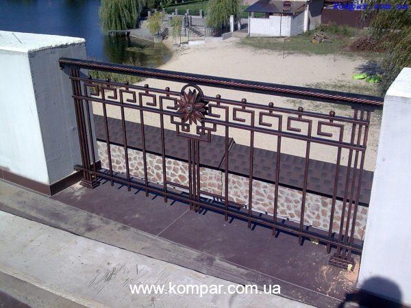 Заказать кованый балкон