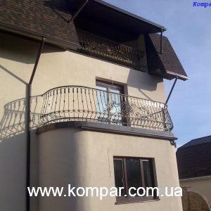 Кованый балкон заказать