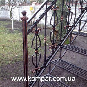 кованые ограждения для балконов и террас