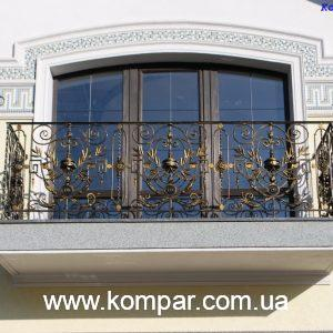 Красивые балконы кованые