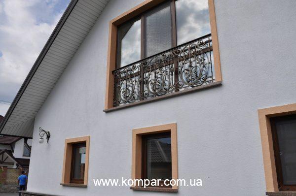 Эскизы балконов кованых