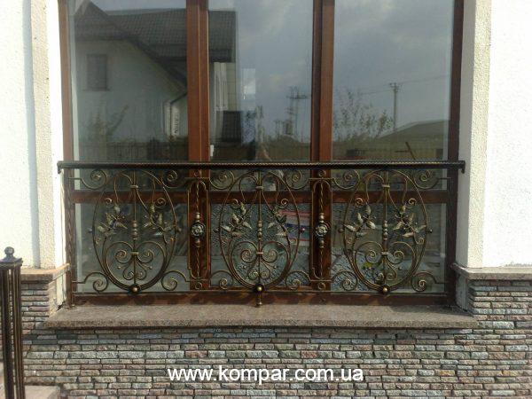 Балконы кованые фото